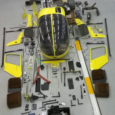 Robinson R22 Beta - peruskorjaus